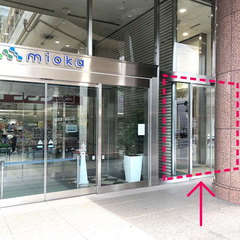 mioka右側のドア写真